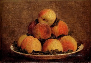 Still life Painting - Peaches Henri Fantin Latour still lifes